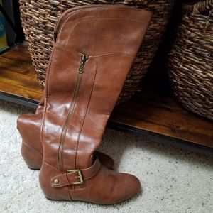 Womens 7.5 guess over the knee boots